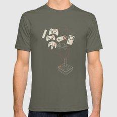 Videogame Mens Fitted Tee Lieutenant MEDIUM