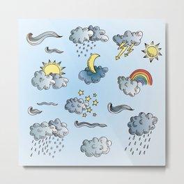 weather / clouds / sky Metal Print