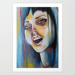 Rainbowgasm Art Print