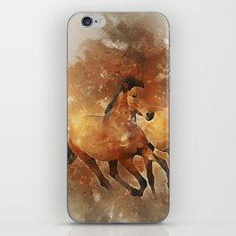 Horses Running Animal iPhone Skin