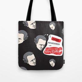 Kant Remember Tote Bag