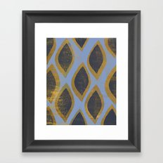 What They Gained Framed Art Print