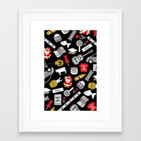 paper towns Framed Art Prints featuring Paper Towns Print by Yasmin Rahman