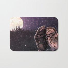 Owly kiss Bath Mat