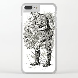 Life on the Mississippi Clear iPhone Case