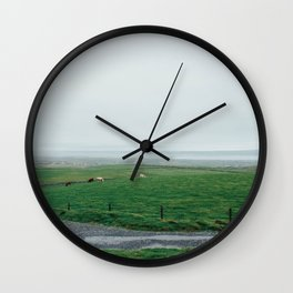 Irish Countryside Wall Clock