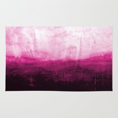 Paint 7 pink abstract painting ocean sea minimal modern bright colorful dorm college urban flat Rug