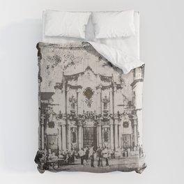 Havana Cathedral Comforters
