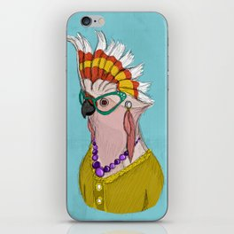 Sophisticated Bird Print iPhone Skin