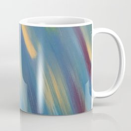 Blue with Gold Streaks Coffee Mug