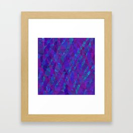 Jewel Tone Sparkles Framed Art Print