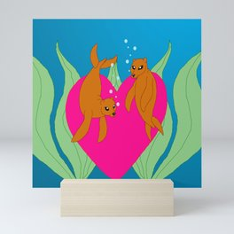 Seals or Selkies? Mini Art Print