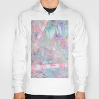 holographic Hoodies featuring Crystalline by Jevan Strudwick