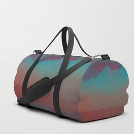 Ombre Mountainscape (Sunset Colors) Duffle Bag