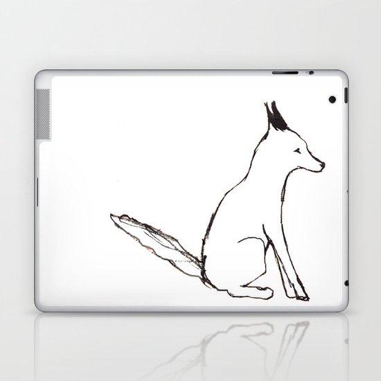 A Fox in The Park Laptop & iPad Skin