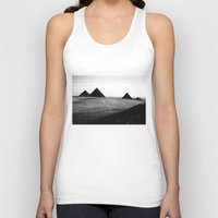 egypt Tank Tops featuring Egypt, Pyramids by DLS Design