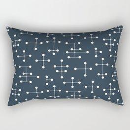Atomic Era Dots 28 Rectangular Pillow