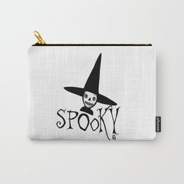 Spooky Witch Girl, Halloween Design Carry-All Pouch