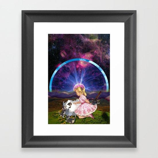 Kitty Litter Framed Art Print