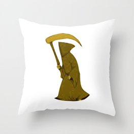 Executioner - The Terror of Halloween Throw Pillow