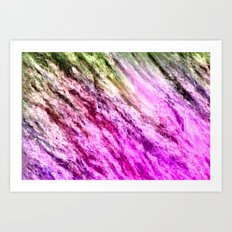 there is unrest in the forest... Art Print