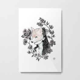 FoxyLady Metal Print