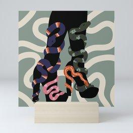Snake Charmer II Mini Art Print