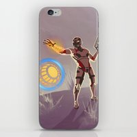 n7 iPhone & iPod Skins featuring Mass Effect 3- Engineer Propaganda by Joe Byrne