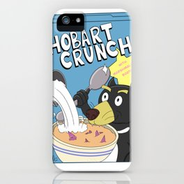 Hobart Crunch Cereal iPhone Case