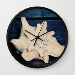 Vintage Seashell Wall Clock