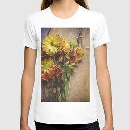 Rustic Flowers (Color) T-shirt