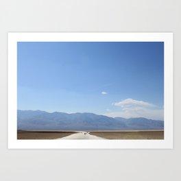 Badwater Basin, Death Valley Art Print