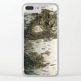 Birch Bark I Clear iPhone Case