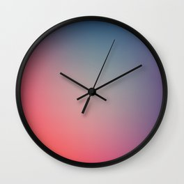 SOMETIMES - Plain Color Iphone Case Wall Clock