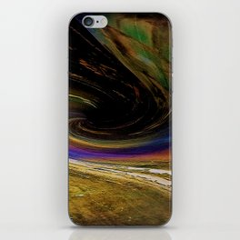 The winding road to the other side iPhone Skin