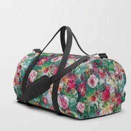 Stormy garden Duffle Bag