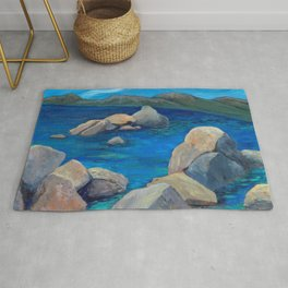Sand Harbor Lake Tahoe Rug