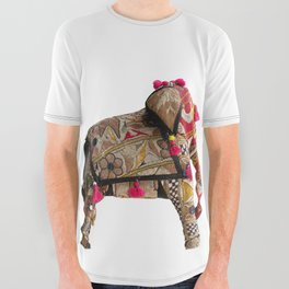 ElephanTribe All Over Graphic Tee