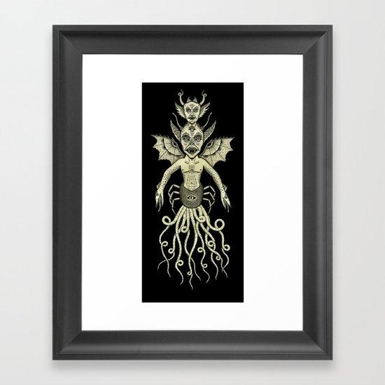 Incubus Framed Art Print