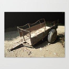 Abandoned Wagon Canvas Print