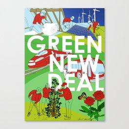 Green New Deal Canvas Print