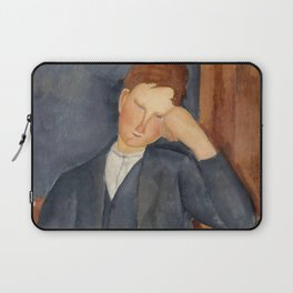 """Amedeo Modigliani """"The Young Apprentice"""" Laptop Sleeve"""