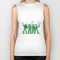 teenage mutant ninja turtles Biker Tanks featuring Teenage Mutant Ninja Turtles by Carma Zoe