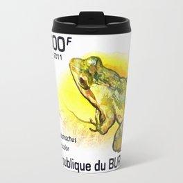Rwanda river frog Travel Mug