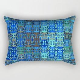 Vintage African Textile Surface Design Rectangular Pillow