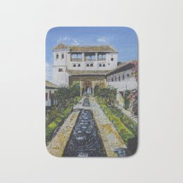 Palacio de Generalife Bath Mat