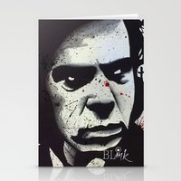 nick cave Stationery Cards featuring Nick Cave- We call upon the author to explain by BLinkart