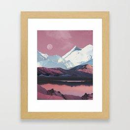 Bruised Landscape Framed Art Print