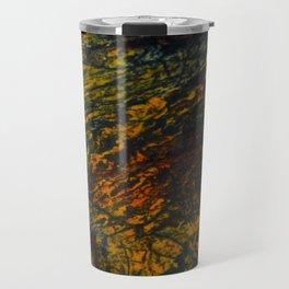 A Fossilized Rainbow Travel Mug