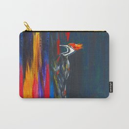Fire Bird (Pileated Woodpecker) Carry-All Pouch